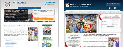 Interactive Real Estate Investing Website Examples